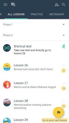 Hello English - Aplikasi Android Bagus untuk Belajar Bahasa Inggris