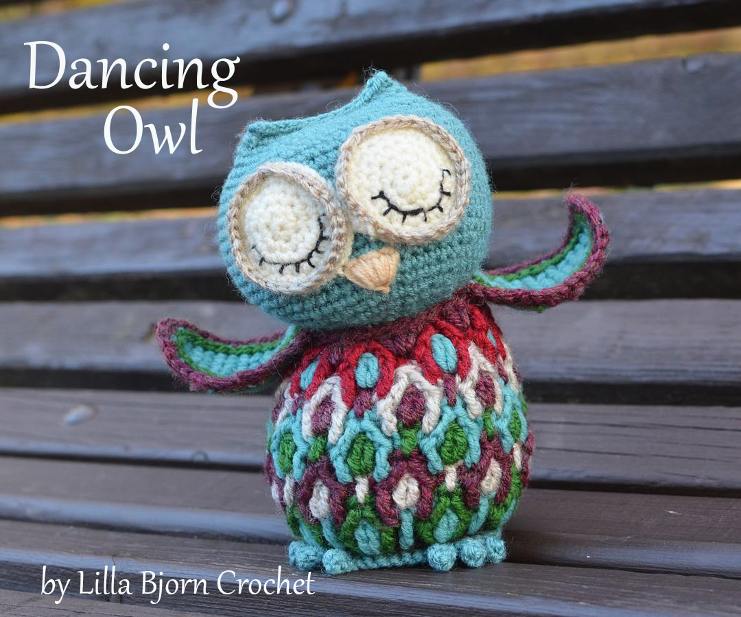 Dancing Owl crochet pattern | LillaBjörn\'s Crochet World