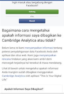 Bukan Ketik BFF,Begini Cara Mengecek Akun Facebook Dibobol Atau Tidak