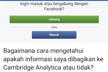 Bukan Ketik BFF,Begini Cara Mengecek Akun Facebook Aman Atau Tidak