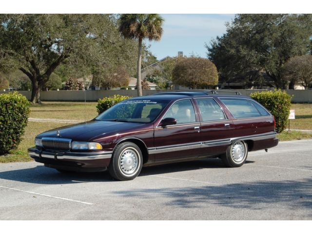 daily turismo 38k mile cabernet 1996 buick roadmaster. Black Bedroom Furniture Sets. Home Design Ideas