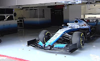 Williams F1 testy barcelona 2019