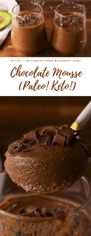 Chocolate Mousse (Paleo! Keto!)