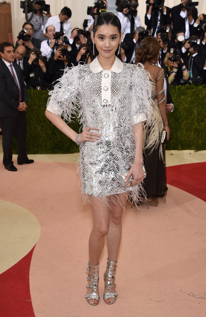 Ming Xi at the 2016 MET Gala