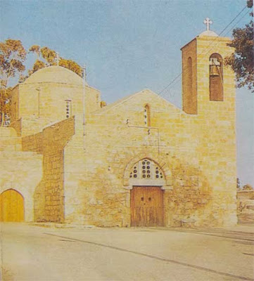Foto Gereja peninggalan zaman Byzantium di Cyprus