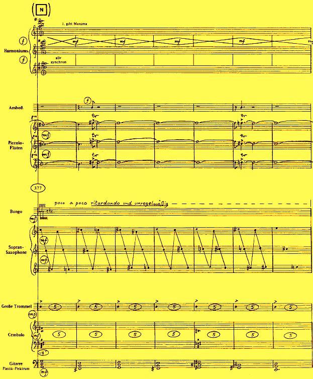 Stockhausen: Sounds in Space: JAHRESLAUF
