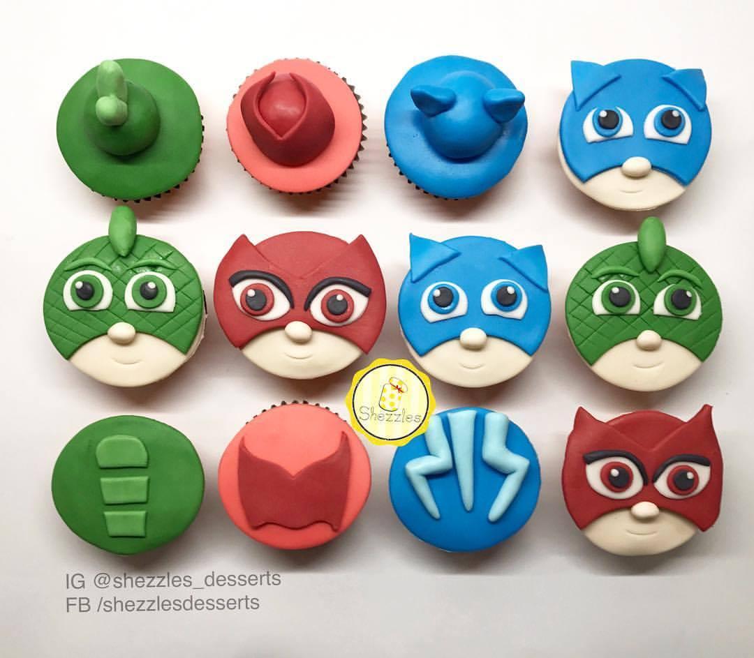 Pj Masks Theme Cake