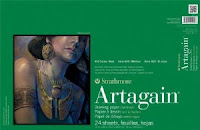 Artagain 400 series ,drawing paper by Strathmore ( black coloured sheets