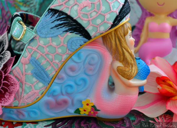 Irregular Choice Aquata mermaid heel outer side