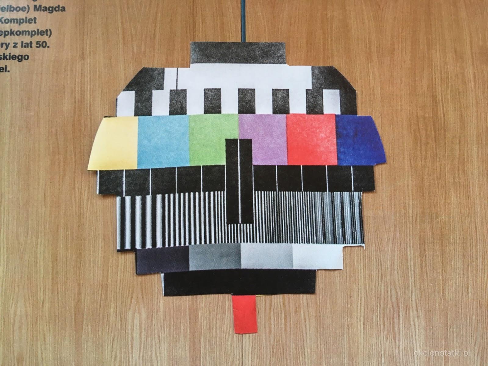 Paper collage, kolaż papierowy, Agata Święcik