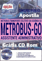 Apostila concurso Metrobus2016,Assistente Administrativo