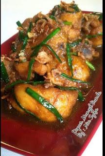 Resepi Ayam Kicap Masak Simple