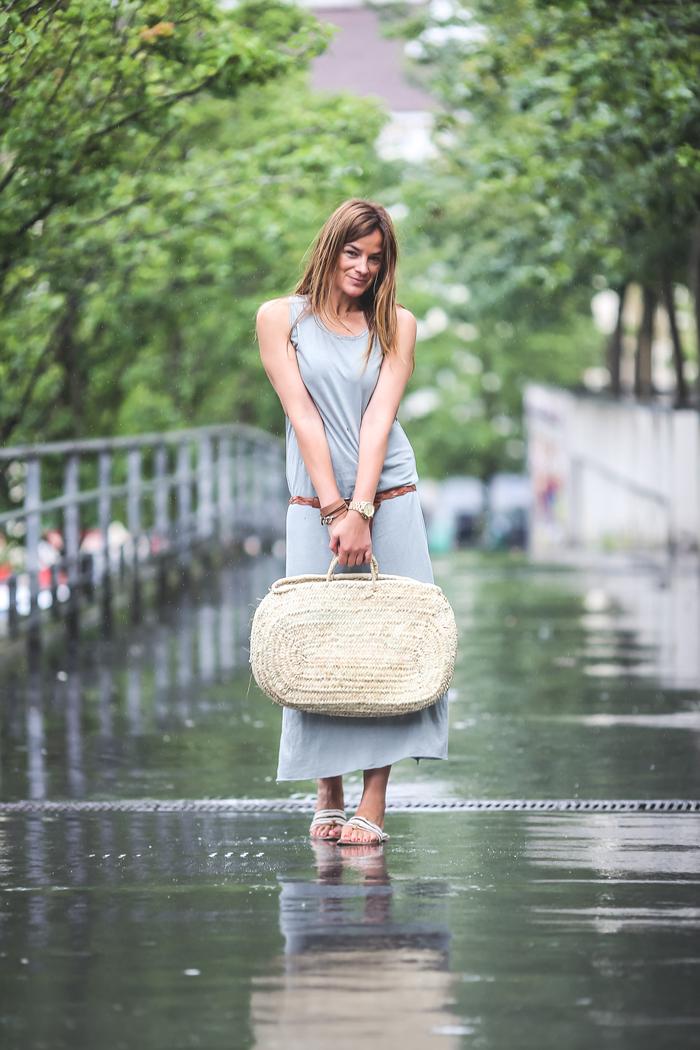 vestido largo , capazo , cesto ,mimbre , Lucía Díez , es cuestión de estilo , Personal Shopper , The Amity Company,