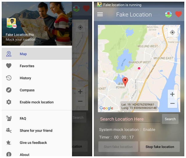 Fake location pro apk free download