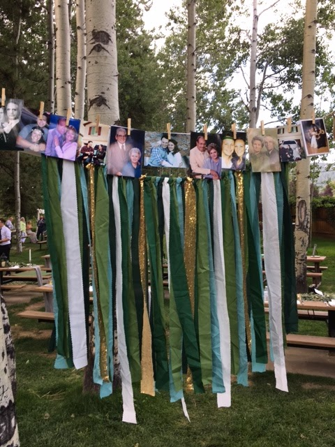 wedding photo streamers