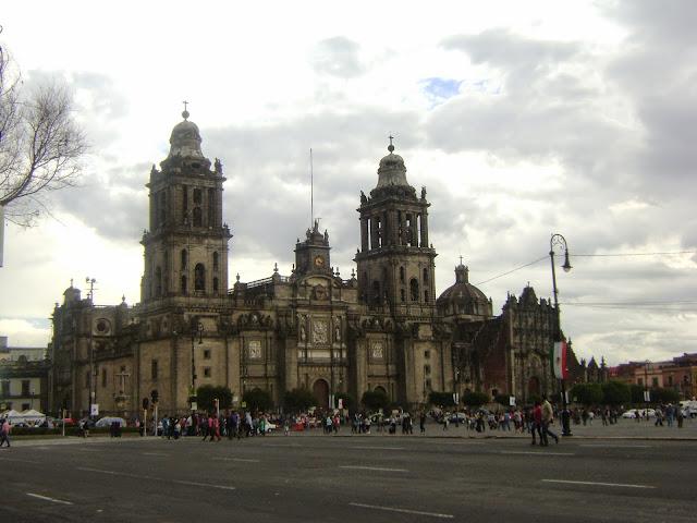 Catedral Metropolitana. Centro Historico de la Ciudad de Mexico