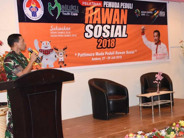 Christian Tehuteru Minta Pemuda Maluku Gencarkan 4S