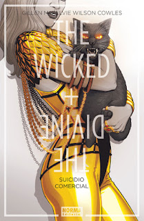 "Reseña de ""The Wicked + The Divine #3: Suicidio Comercial"" de Kieron Gilleny y Jamie McKelvie - Norma editorial"