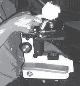 Cara Membawa Mikroskop