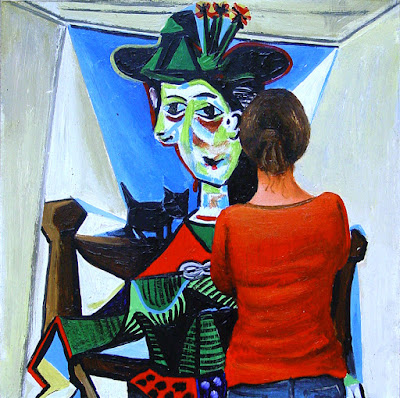 pablo chat View pablo picasso (1881-1973) , femme au chat assise dans un fauteuil on christiescom, as well as other lots from the impressionist/ modern evening sale.