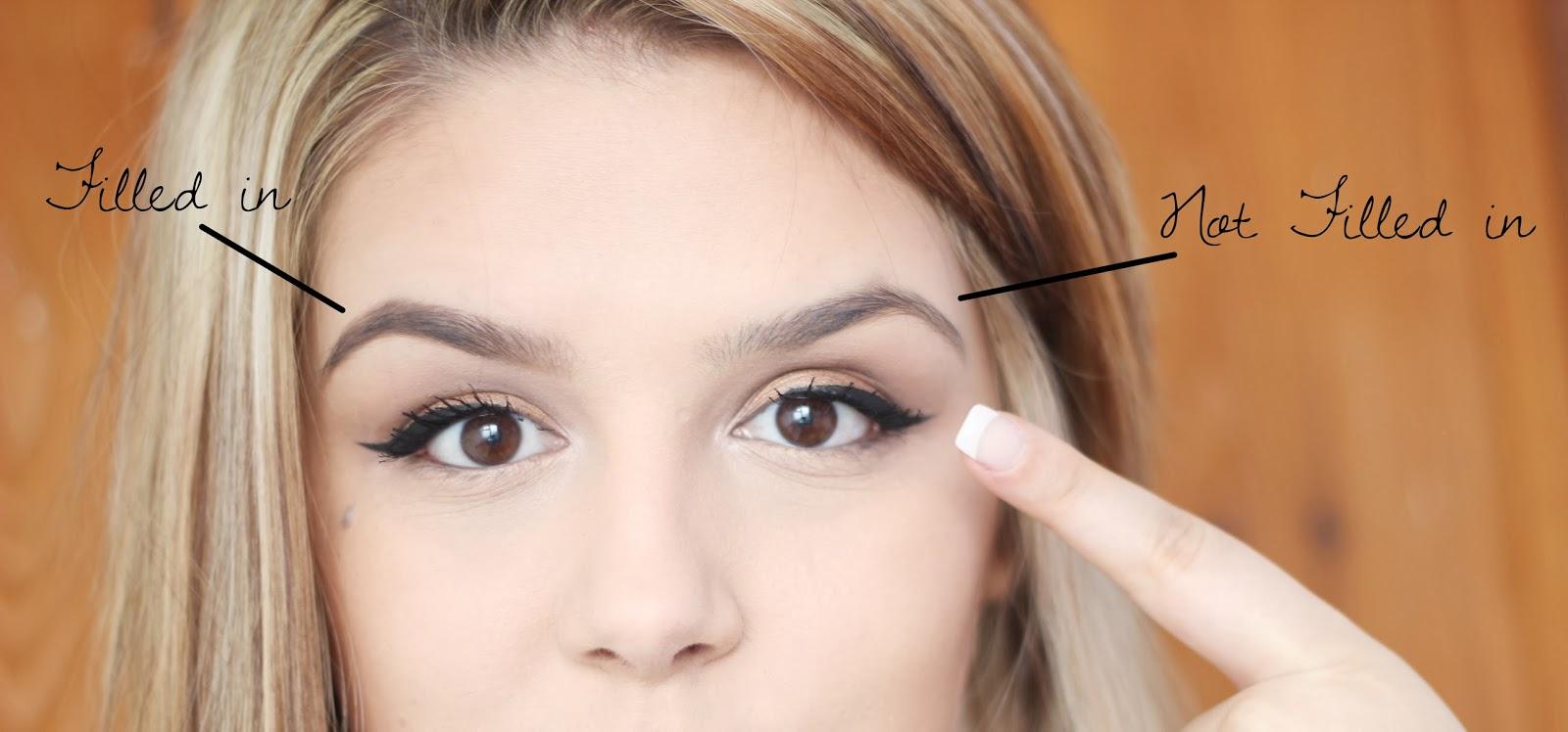 SimplySteadman: How I fill in my eyebrows