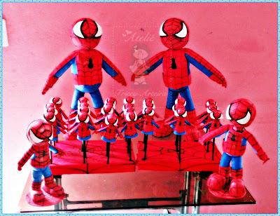 Homem Aranha, decoração para festa infantis