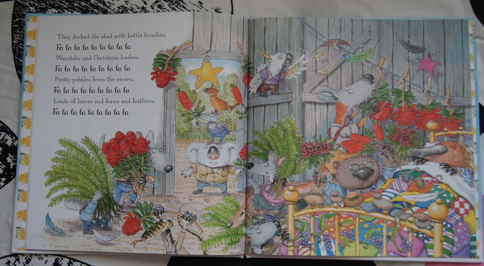 Lyric la la lie lyrics : Christmas Reads thanks to Scholastic - Three B's Blog