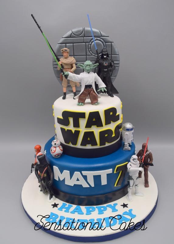 The Sensational Cakes Star Wars Theme 3d Cake Death