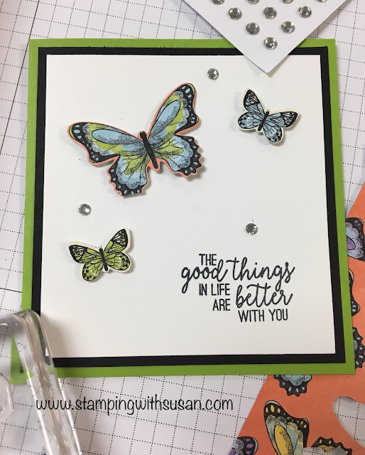 Stampin' Up!, Butterfly Gala , 2019 Occasions Catalog, www.stampingwithsusan.com