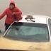 Video increible – Fijate como rescatan mujer y su bebé en inundación por Matthew