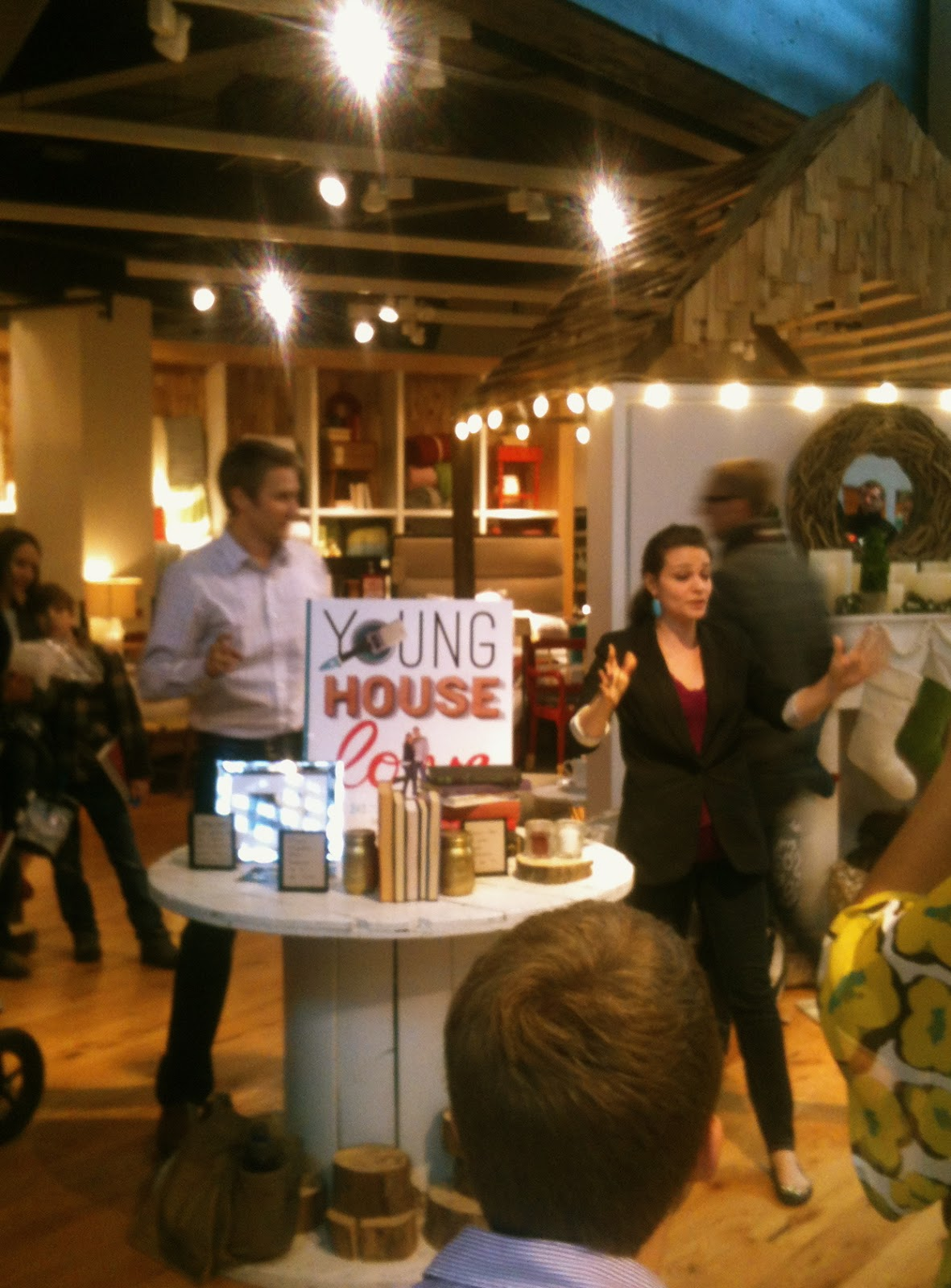 Young House Love book at West Elm Chicago, Rebuild Health and Home