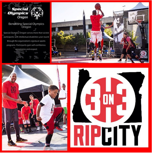Sabrina's Crossing -- An athlete's life on the road: Rip City 3-on-3 Basketball Tournament