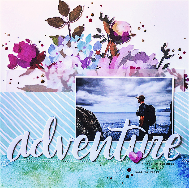 Stephanie Berger - Scrapbooking - Layout - Altenew - Madeira