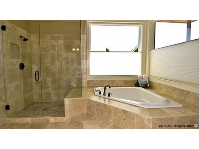 Baignoire et douche dans petite salle de bain salle de bain for Baignoire et douche dans petite salle de bain