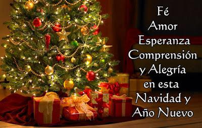 Imagenes con mensajes de feliz navidad