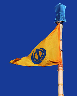 The Sikh Flag - Nishan Sahib