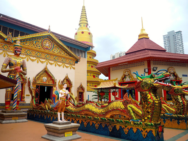 Thai Buddhist Temple, Georgetown, Penang, Malaysia