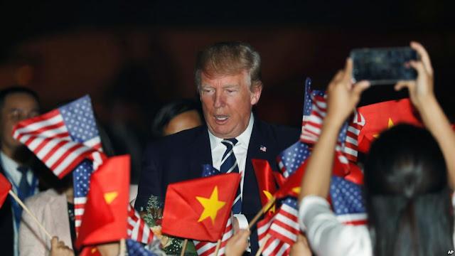 Tổng thống Trump, vị thế nước Mỹ và nhân quyền ở Việt Nam