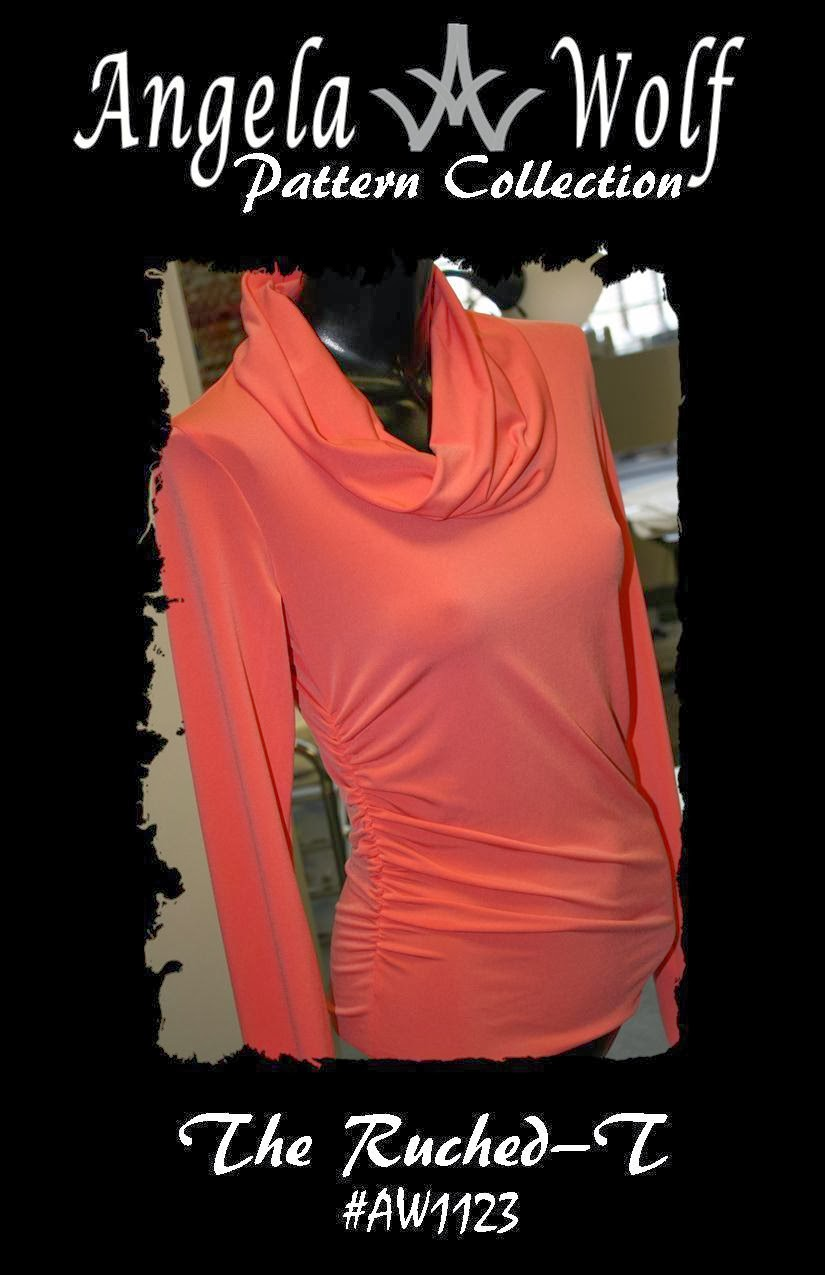 I used Angela Wolf s Ruched T pattern. We carry this pattern on our  website 31448c3ac