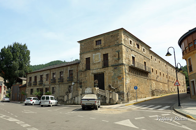 Palacio de los Duques de Arganza, Villafranca del Bierzo, León
