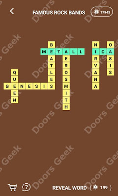 Cheats, Solutions for Level 174 in Wordcross by Apprope