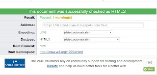 Blog Valid HTML5 versi wap