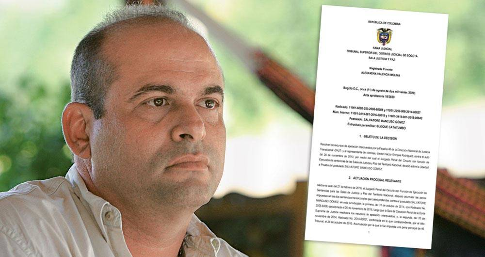 Mancuso tiene las pruebas. Gobierno de Uribe tenía un complot contra la Corte Suprema