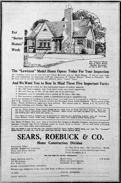 sears lewiston 1929