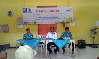 Pembukaan Baksos Kesehatan oleh Supriyadi, M.Kes Ketua MPKU PDM Jember di Watukebo