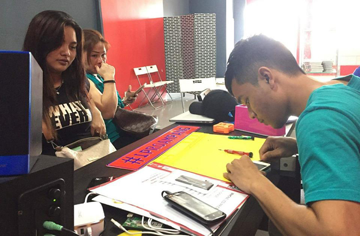 Kedai repair iphone terbaik sekitar Ampang