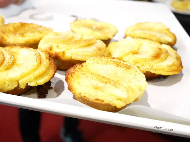 Jazz Apple Frangipane Tart made by Chef May Foo
