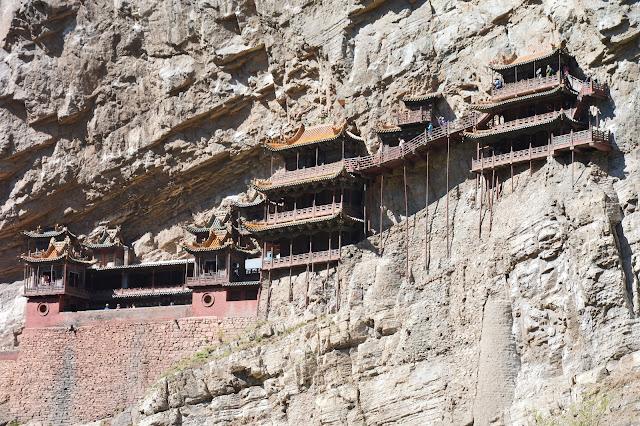 Monastère suspendu à Datong