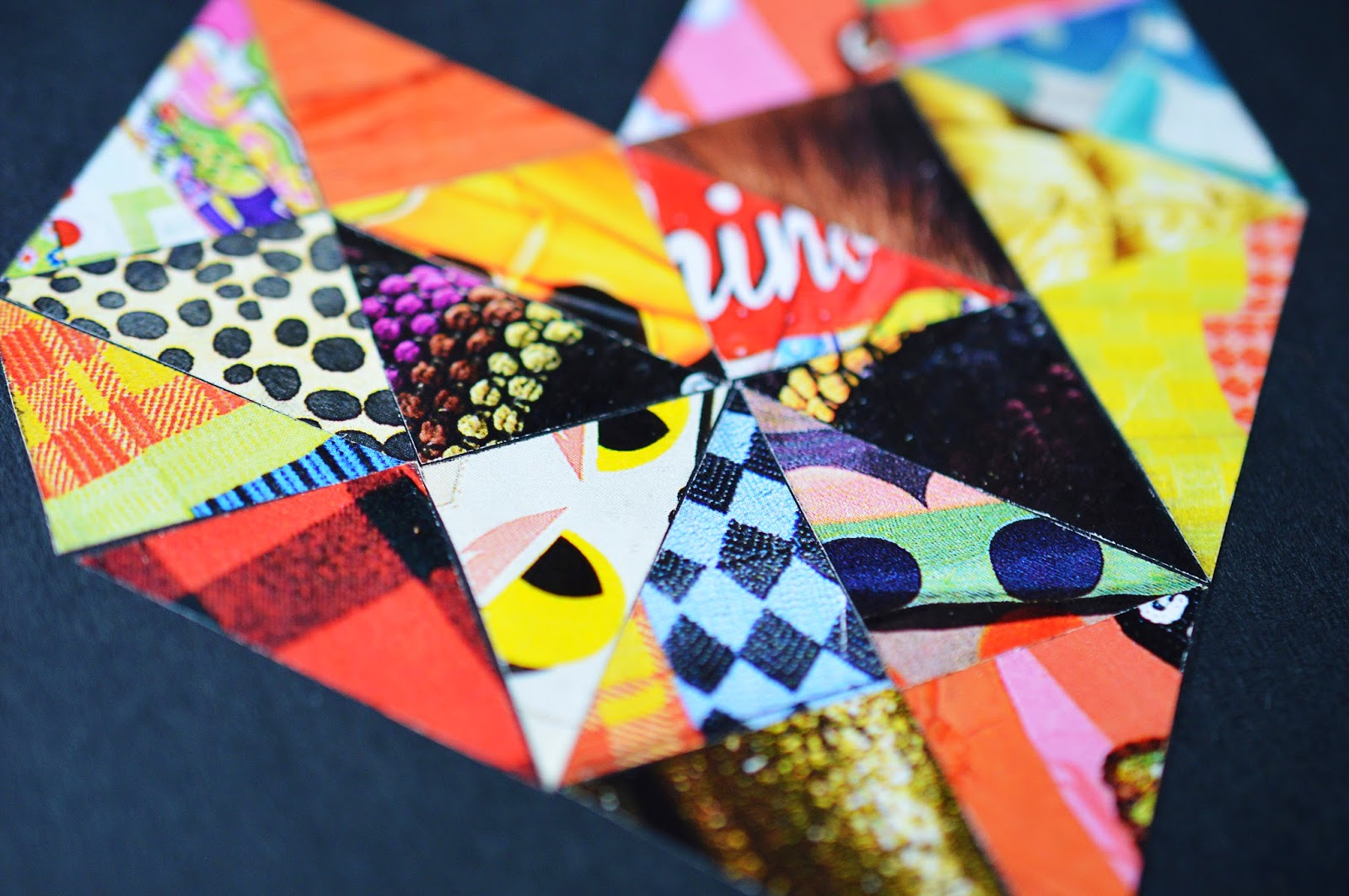 DIY Fashion Magazine Collage Notebook Cover | Motte's Blog