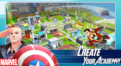 MARVEL Avengers Academy VI.IS.O.I Mod Apk Free Shopping Update